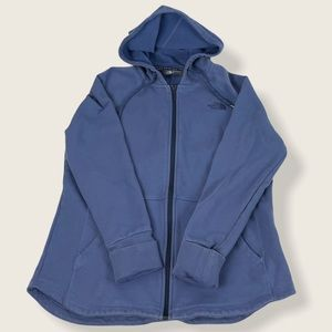 North Face Fleece Lined Hoodie Jacket L #1302